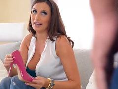 Sensual Jane Gives Her Man A Footjob