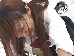 VIVA is buttocks goaf of schoolgirl.