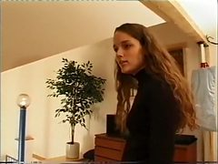 Jeune étudiante naïve piégée par un vieux aveugle v...