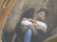 Desi love birds caught on hidden cam