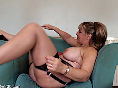 Danielle  Fucks Herself With A Sex Toy