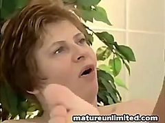 Mature gets fucked hard and then gets fucked harder in ...