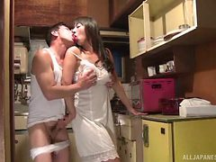 hot mature housewife takes it from behind
