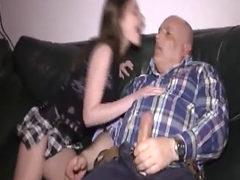 Slutty Teen Fist Fucked By An Old Pervert