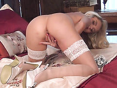 Tattoos Chloe Toy with small tits and shaved pussy tou...