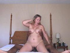 White wife fucked