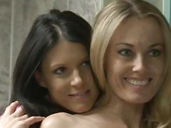 India Summers and Anita Dark in hot lesbian fun