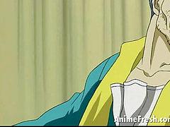 sensuous anime chick