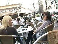 Cute European teen fucking in public place (Try somethi...