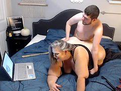 Crazy sex scene BBW hot exclusive version