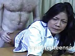 Veronica Filipino Escort Makes Some Extra Cash Desk Fuc...