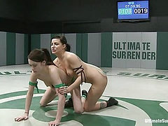Tori Lux gets her ass kicked by smaller girl!Made to su...