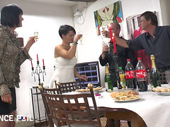 French Anniversary Party Turn In To An Orgy