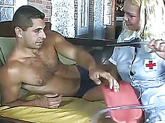 plump big breast nurse like anal sex at work