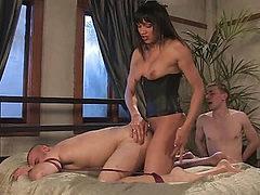Yasmin Lee - Threesome part 2