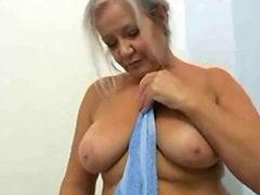 Blond Slut April Masturbating Herself