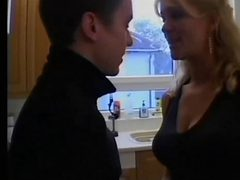 British Blonde Milf From Sexdatemilf Com In Stockings W...