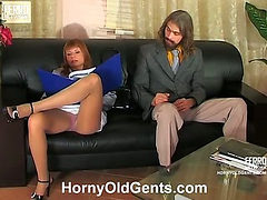 Alice&Mike oldman sex action