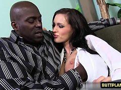 Big tits pornstar interracial with cumshot
