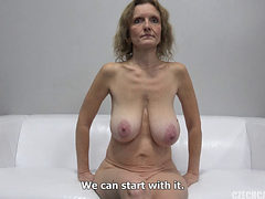 Beautiful Mature Slut Fucked At A Casting Shoot