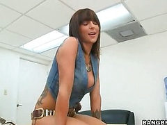 A pretty trendy gal! (Bang Bros » Backroom MILF)