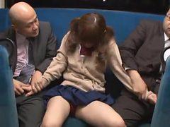 Horny Japanese girl Azusa Itagaki in Exotic Facial, Gan...