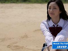 Asian Schoolgirl Gangbang