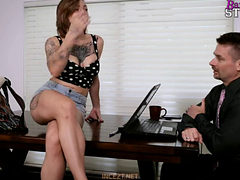 Barebackstudios Harlow Harrison (free Spirited Daughter...