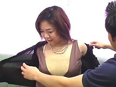 Hot asian armpit fetish scene