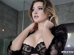 Anna Polina Interracial Anal Sex