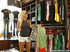 Dressing room action! (Bang Bros » MILF Soup)