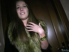 Amateur Blonde Takes Dick In Public Toilet