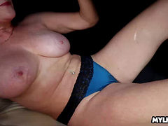 Older Milf Made Him Spurt Across Her Tits