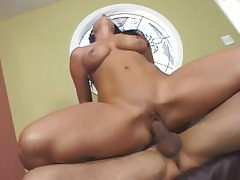Erin Marxxx is slammed into by a big thick shaft