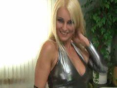 Euro blonde anal