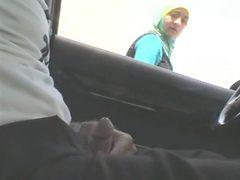 Arab hijab maroc flash