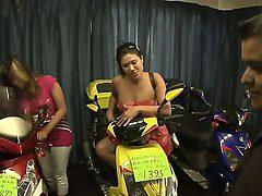 London Keyes,Natasha Nice and Thea Marie getting horny ...