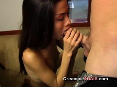 Her tiny body was so small that my cock had finally rea...
