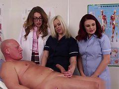 Nurse Mistress Gets Spunk
