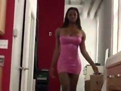 Delicious ebony shemale Natasha Knoxx