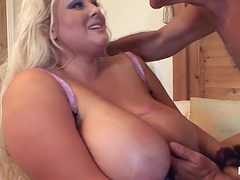 Mature Stud Has Fun With A Pair Of Massive Tits