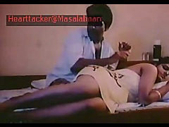 Classic Indian mallu girl Devi enjoyed in movie clip