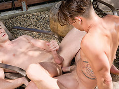 Paul Canon & Dustin Holloway in Wild Weekend Part 1, Sc...