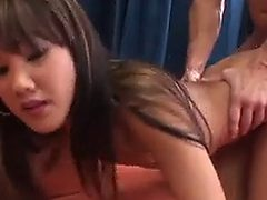 Petite Asian Fucked By A Large Cock