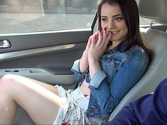 Fingering in a car