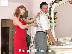 Irene&Monty cool strapon video