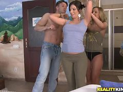 Really Hot Foursome With The Hot Babe Debbie White And ...