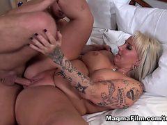 Fabulous pornstar in Incredible Big Tits, Creampie porn...