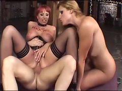 Best pornstars Kylie Ireland and Lauren Phoenix in craz...