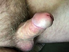 mature exhibitionist - slow erection and ejaculation